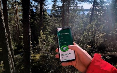 Oikea tieto oikeaan paikkaan Metsähallituksen Retkikompassilla